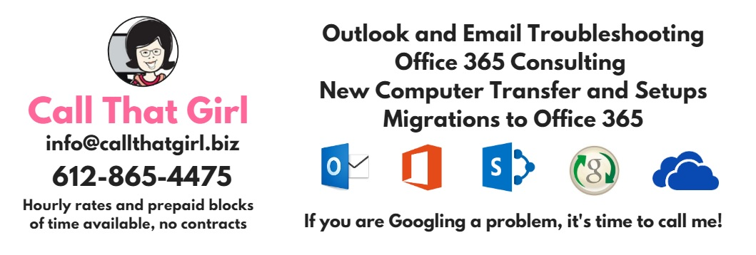Expert Microsoft Outlook, Office 365 Consulting and Helpdesk